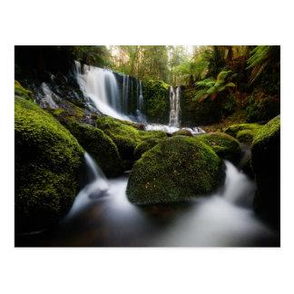 Hufeisen fällt Wasserfall Postkarte