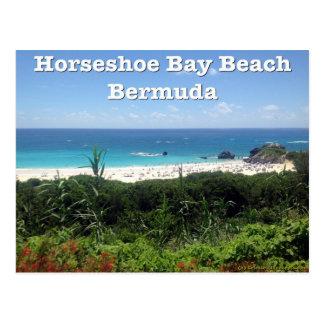 Hufeisenbucht-Strand, Bermuda Postkarte