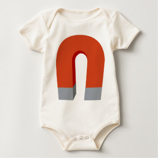Hufeisenmagnet Baby Strampler