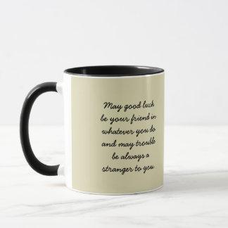 Hufeisenviel Glück-Tasse Tasse