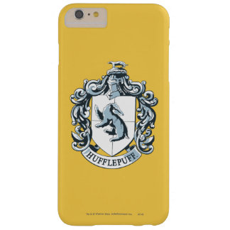 Hufflepuff Wappen-Blau Barely There iPhone 6 Plus Hülle