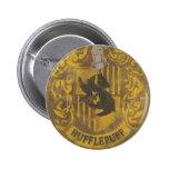 Hufflepuff Wappen HPE6 Runder Button 5,7 Cm