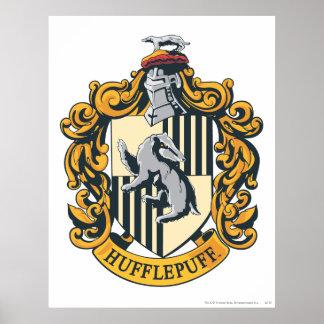 HUFFLEPUFF™ Wappen Poster