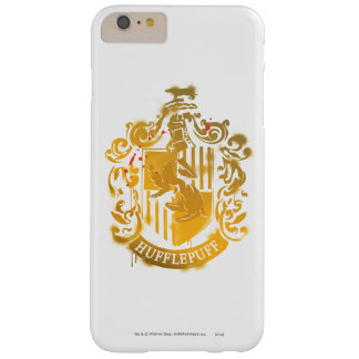 Hufflepuff Wappen - Splattered Barely There iPhone 6 Plus Hülle