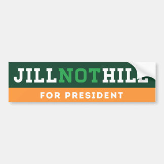 Hügel Jill nicht Autoaufkleber