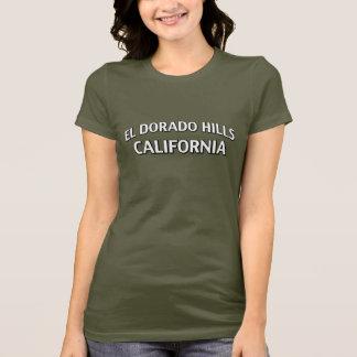 Hügel Kalifornien EL Dorado T-Shirt