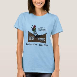 Hügel-Land-Garn-Schleichen T-Shirt