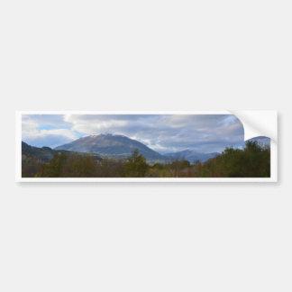 Hügel nähern sich Sankt Domenica Talao Autoaufkleber