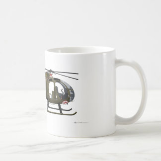 Hughes OH-6 Cayuse-Fräulein Clawd Kaffeetasse