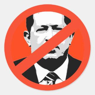 Hugo Chavez Runder Sticker