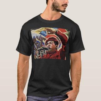 Hugo Chavez - Cartoon-Revolutionsart T-Shirt