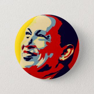 Hugo Chavez - Obama-Hoffnungsart Runder Button 5,7 Cm