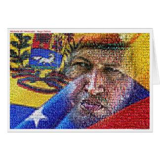 Hugo Chavez - Venezuela Karte