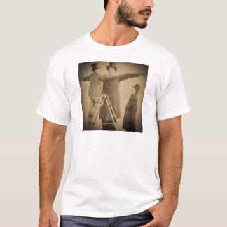 Hugo das riesige Vintage Zirkus-Freak Wendt Foto T-Shirt