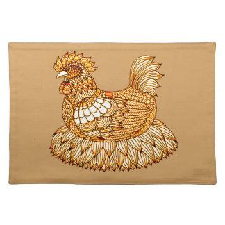 Huhn 2 tischset