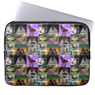 Huhn-Foto-Collage 13 Zoll Laptop-Hülse Laptop Sleeve