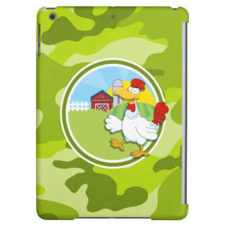 Huhn; hellgrüne Camouflage, Tarnung