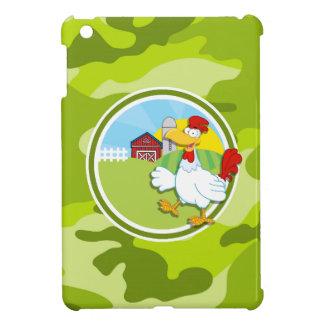 Huhn; hellgrüne Camouflage, Tarnung Hülle Für iPad Mini
