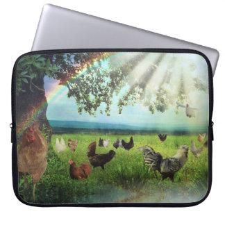 Huhn-Himmel Laptop Sleeve
