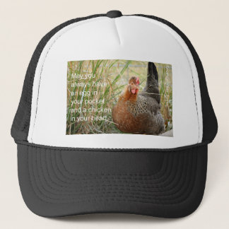 Huhn in Ihrem Herzen Truckerkappe