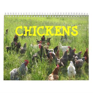 Huhn-Kalender Wandkalender