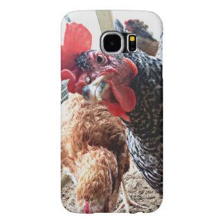 Huhn mit Haltung - Samsung rufen Fall an