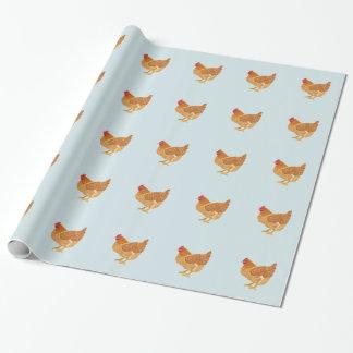 Huhn-Packpapier Geschenkpapier