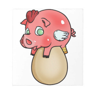 Huhn, Schwein, Cheeken-Peeg! Notizblock