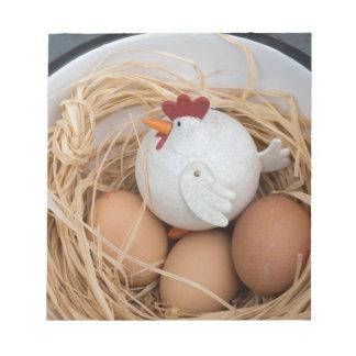 Huhn u. Eier Notizblock