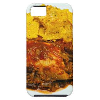Huhn-u. Rindfleisch-Paprika-KäseNachos iPhone 5 Hülle