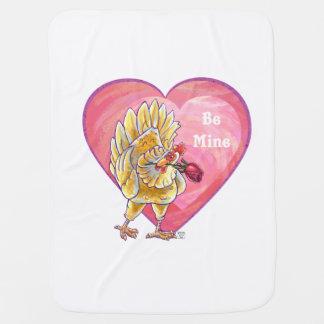 Huhn-Valentinstag Puckdecke