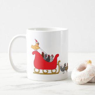 Huhn-Weihnachten Kaffeetasse