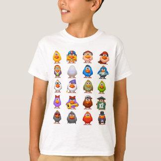 Huhn zeichnet den grundlegenden T - Shirt w/logo