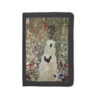 Hühner des Garten-Weg-w, Gustav Klimt, Kunst