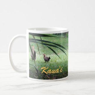 Hühner in Kauai Kaffeetasse