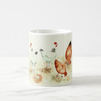 Hühner Kaffeetasse