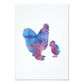 Hühner Karte