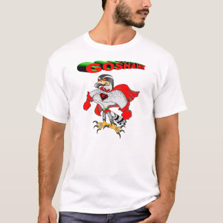 Hühnerhabicht-Cartoon T-Shirt