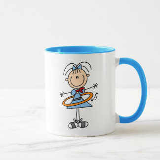 Hula Band-Mädchen-Tasse Tasse