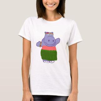 Hula Flusspferd-Shirt T-Shirt