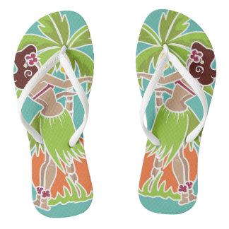 Hula Honig - Aqua - drehen Sie Reinfälle um Flip Flops