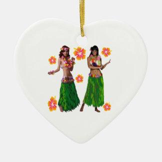 hula kaiko keramik ornament