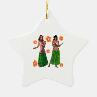 hula kaiko keramik Stern-Ornament