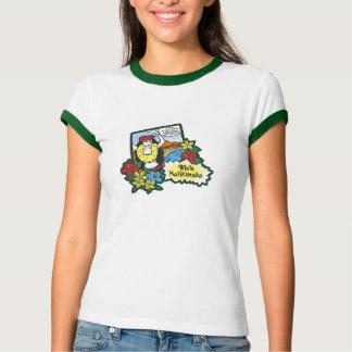 Hula Mädchen Mele Kalikimaka hawaiischer T-Shirt