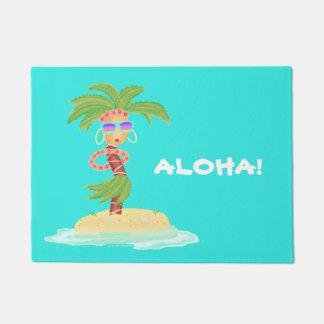 Hula Palmen-Fußmatte Türmatte