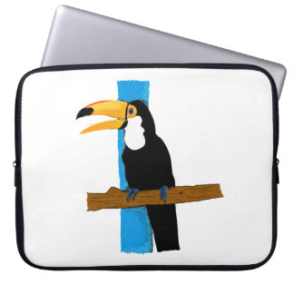 Hülle Glückliches Tukan Laptopschutzhülle