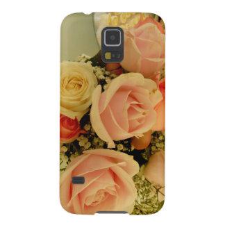 Hülle Samsung Galaxy S5 blumen Stil rosa
