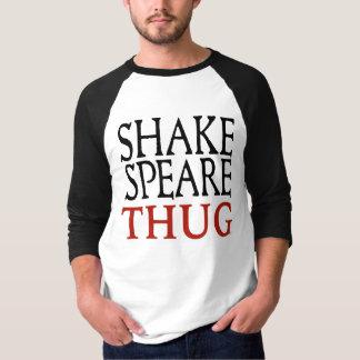 Hülse der Shakespeare-Verbrecher-Männer des T - T-Shirt