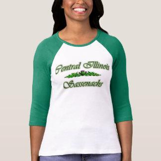 Hülse des Grüns 3/4 DIESSEITS T-Shirt