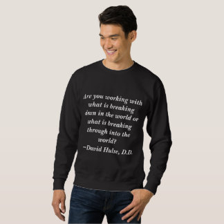 Hulse-Zitat Sweatshirt